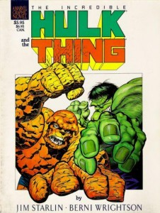 0876 Hulk The Thing Big Change