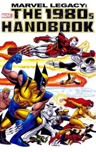 Marvel Legacy: The 1980s Handbook Cover