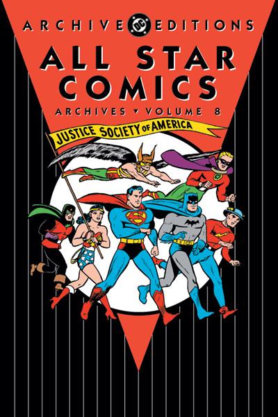 All Star Comics Archives Vol 8