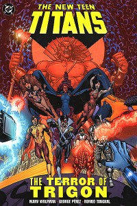 New Teen Titans Terror Of Trigon