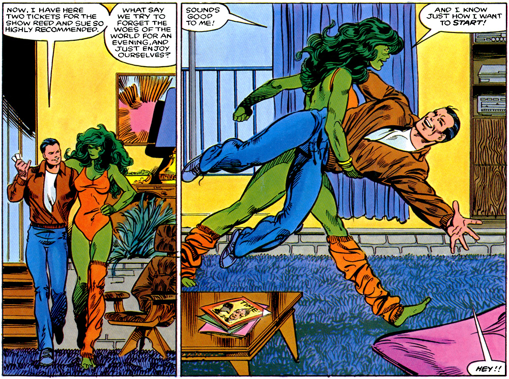The Sensational She-Hulk is actually tied heavily into the continuity ...