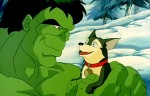 Hulk and a Puppy