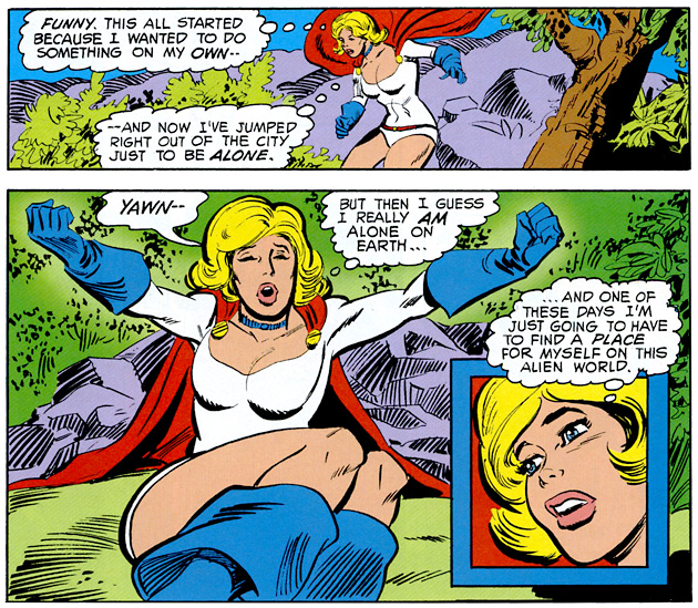 Power Girl - Alone On Earth