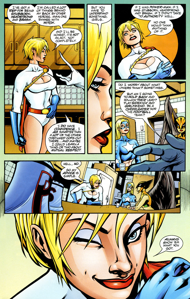 Venom vs Power girl