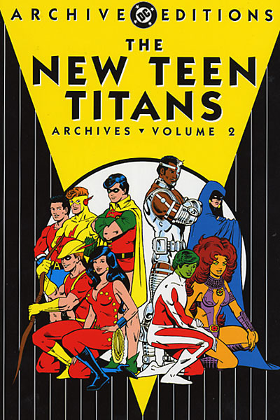 The New Teen Titans Archives ...